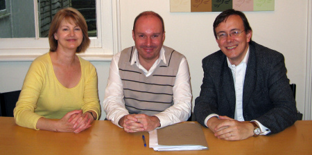 Liz Leffman, Mark Oaten and Martin Tod